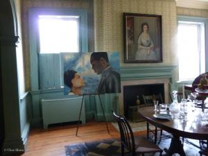 Dining room of Morris-Jumel mansion
