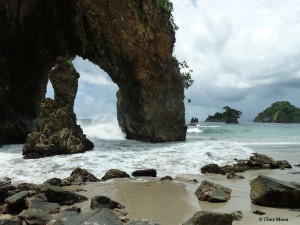 Cathedral Rock, Paria Bay, Trinidad