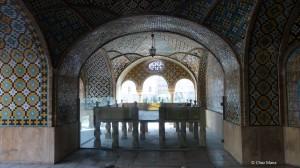 Golestan Palace, Tehran, Tahkt-é Marmar