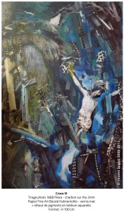 "Vincent Dugast, ""Croce III,"" 2008-2013"