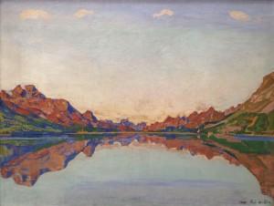 "Ferdinand Hodler, ""Silvaplanersee,"" 1907"