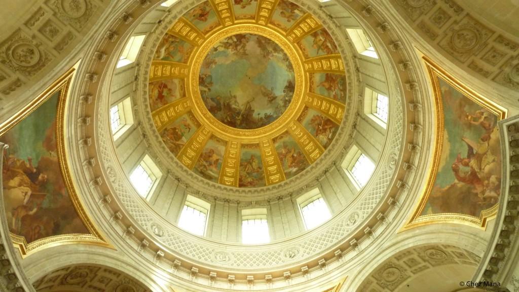 Plafond du dôme des Invalides