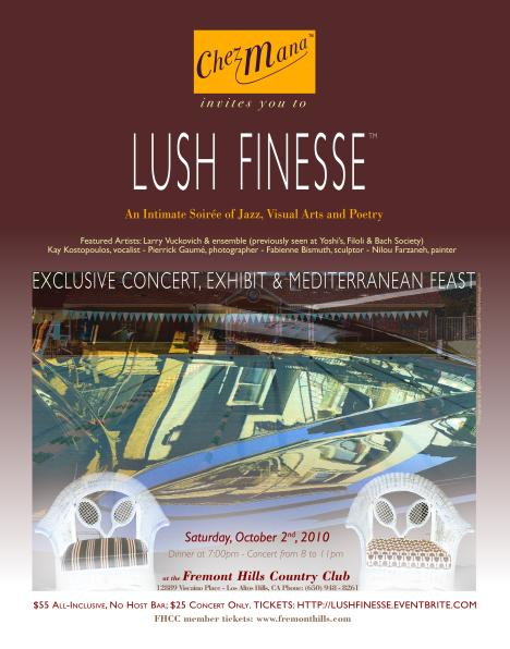 Lush Finesse poster