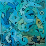 Roshan Houshmand, Symphony in Blue, 24