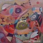 Roshan Houshmand, FABRIC OF THE COSMOS, 20 x 20