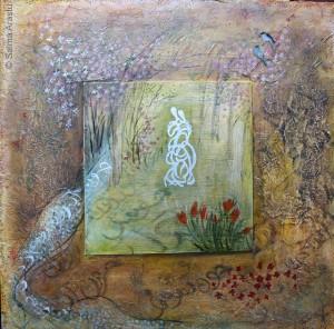 Rumi Poem VI: Nightingale Comes to the Garden